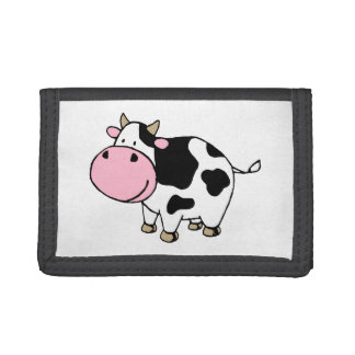 Cow Trifold Wallet