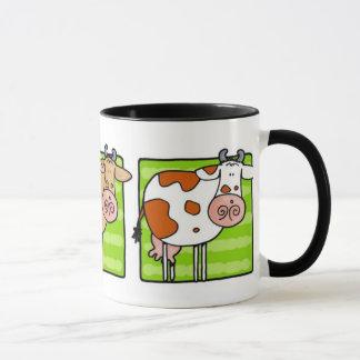 cow trio mug