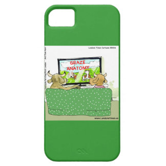 Cow TV Funny Cartoon iPhone 5 Case