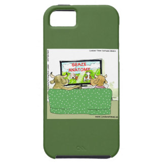Cow TV Shows Funny Cartoon iPhone 5 Case