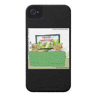 Cow TV Shows Funny Cartoon Case-Mate iPhone 4 Cases