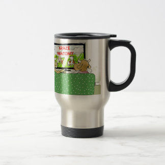 Cow TV Shows Funny Cartoon Stainless Steel Travel Mug