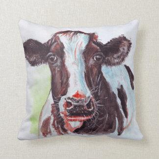 Cow Watercolour Cushion