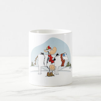 Cow winterfun Mug