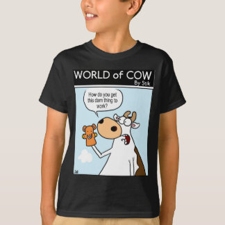 Cow With Teddy Puppet T-Shirt