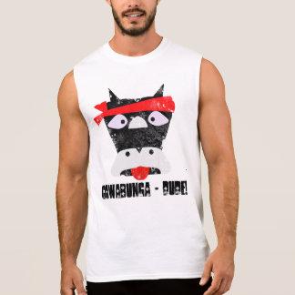 Cowabunga Dude Grunge Sleeveless T-shirts