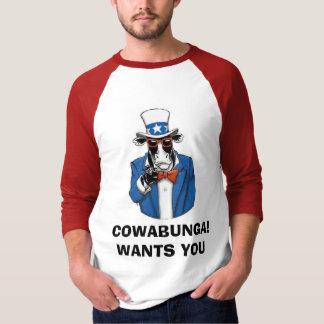 COWABUNGA™ [FUNCOW™] T-SHIRT