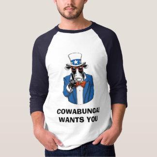 COWABUNGA™ [FUNCOW™] TEE SHIRTS