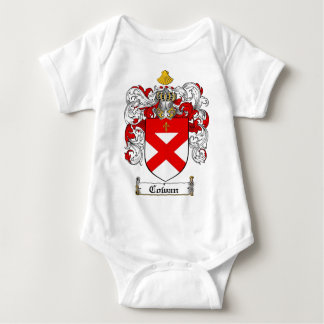 COWAN FAMILY CREST -  COWAN COAT OF ARMS BABY BODYSUIT