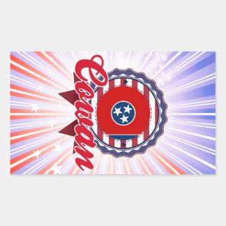 Cowan TN Rectangle Sticker