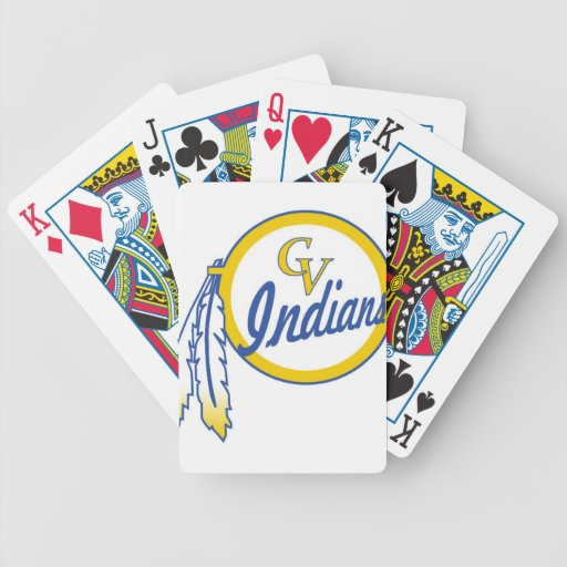 Cowanesque Valley Youth Football Indians Poker Deck