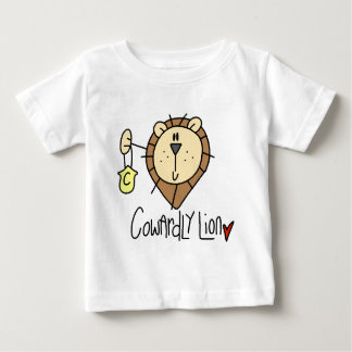 Cowardly Lion Baby T-Shirt