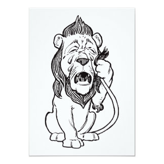 Cowardly Lion Card