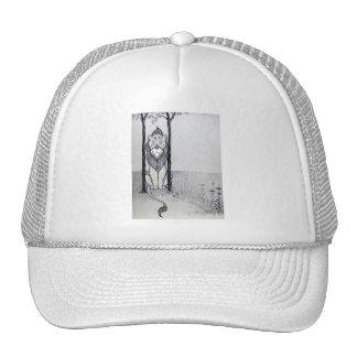 Cowardly Lion Trucker Hats