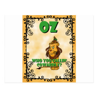 Cowardly Lion Post Cards