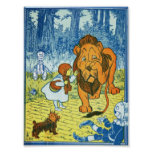 Cowardly Lion Poster