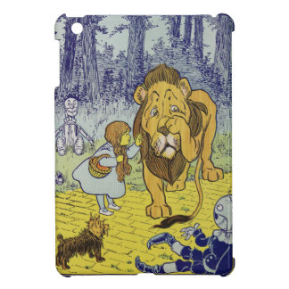 Cowardly Lion Wizard of Oz Book Page Case For The iPad Mini