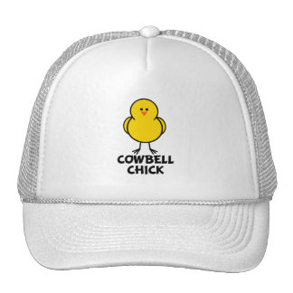 Cowbell Chick Trucker Hats