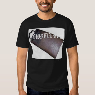 COWBELL, COWBELL GOD TEE SHIRTS