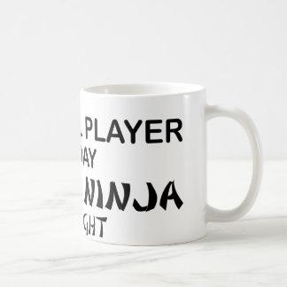 Cowbell Deadly Ninja by Night Coffee Mug