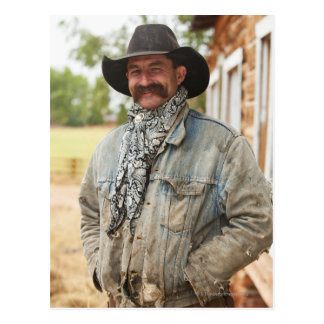 Cowboy 14 postcard