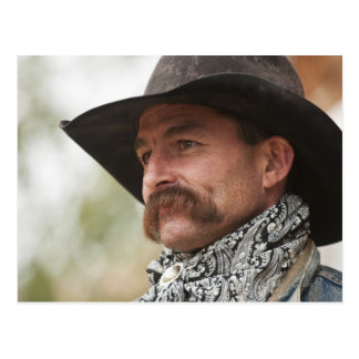 Cowboy 16 postcard