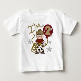 Cowboy 2nd Birthday Baby T-Shirt