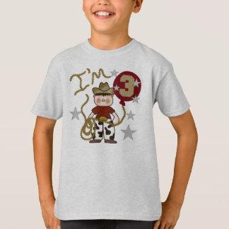 Cowboy 3rd Birthday T-Shirt
