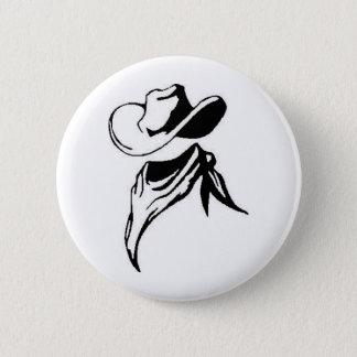Cowboy 6 Cm Round Badge