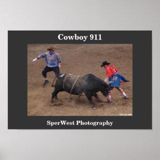 Cowboy 911 poster