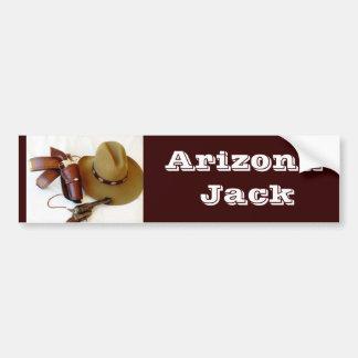 Cowboy Action Shooter Alias Bumper Sticker Car Bumper Sticker