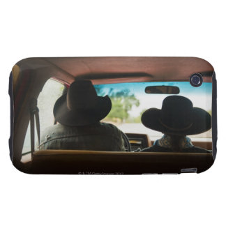 Cowboy and cowgirl in truck tough iPhone 3 cover