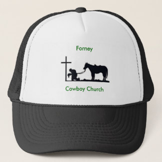 cowboy_and_cross, Forney, Cowboy Church Trucker Hat