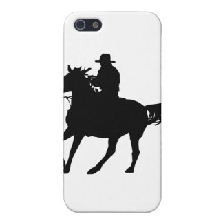 Cowboy and his horse iPhone 5 covers