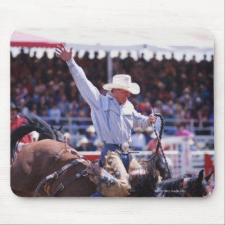 Cowboy at a Rodeo Mouse Pad