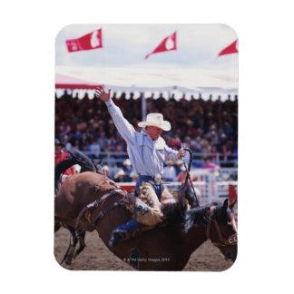 Cowboy at a Rodeo Magnet