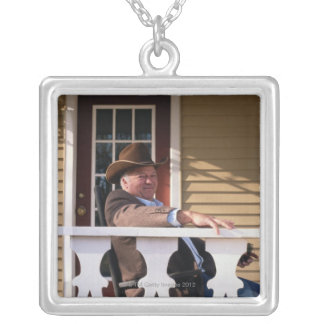 Cowboy at Home Necklace