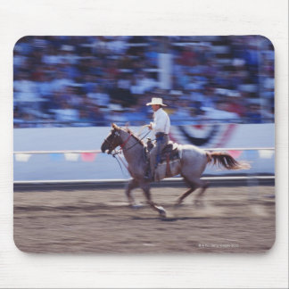 Cowboy at the Rodeo Mouse Pad