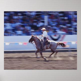 Cowboy at the Rodeo Print