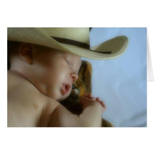Cowboy Baby Greeting Cards