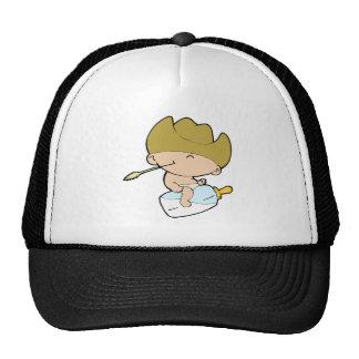 cowboy baby mesh hat