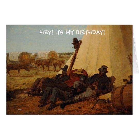 Cowboy Birth Day Card