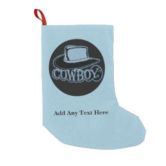 Cowboy Blue & Black Hat Custom Text