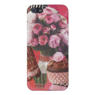 Cowboy Boot and Cupcake iPhone 5 Cover