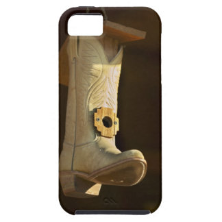 Cowboy boot bird house case for the iPhone 5