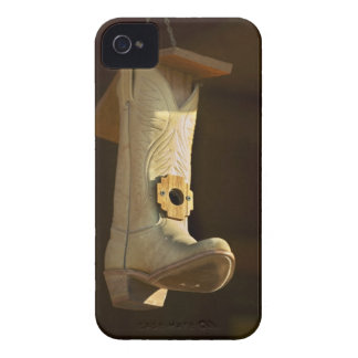 Cowboy boot bird house Case-Mate iPhone 4 cases