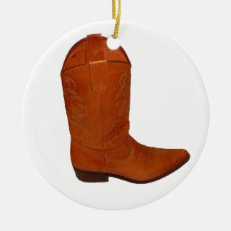 Cowboy Boot Christmas Ornament