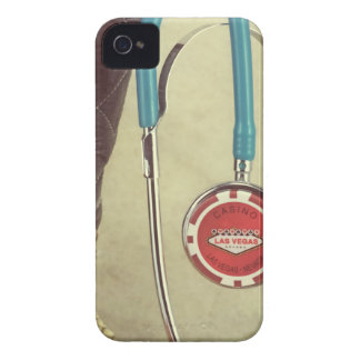 Cowboy Boot Doctor Stethoscope Casino Chip Nurse iPhone 4 Covers