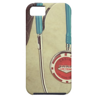 Cowboy Boot Doctor Stethoscope Casino Chip Nurse iPhone 5 Cover