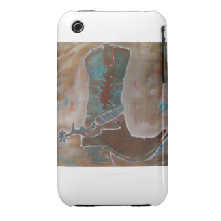 Cowboy Boot Phone Cover iPhone 3 Cases